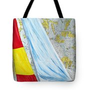 Sailing From The Charts Tote Bag