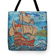 Sailing Home Tote Bag