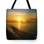 Sailing Tote Bag by Jeff Breiman