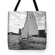 Sailing On The Charles Tote Bag
