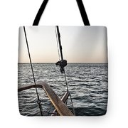 Sailing The Seas Tote Bag