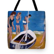 Sailing The Wildflower Tote Bag