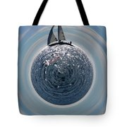 Sailing The World Tote Bag