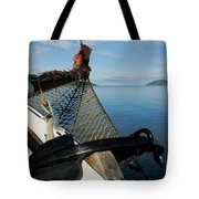 Sailing Through The Narrows Tote Bag