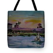Sailing To The Spanish Fort Tote Bag