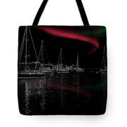 Sailing Under Strange Lights Tote Bag