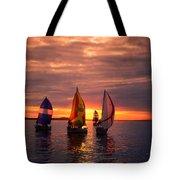 Sailing Yachts Tote Bag