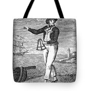Sailor, 18th Century Tote Bag