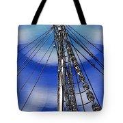 Sailors Beck And Call Tote Bag