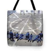 Sailors Fire M4a1 Carbine Assault Tote Bag