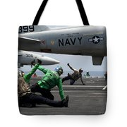 Sailors Give Launch Approval For An Tote Bag