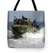 Sailors Navigate The Waters Tote Bag