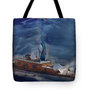 Sails Down Tote Bag