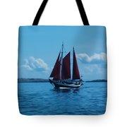 Sails Off The San Juans Tote Bag