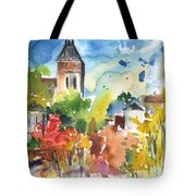 Saint Bertrand De Comminges 05 Tote Bag