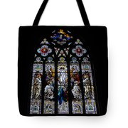 Saint Johns Stained Glass Tote Bag