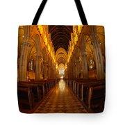 Saint Marys Church Interior 3 Tote Bag