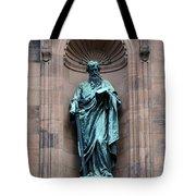 Saint Peter Statue - Historic Philadelphia Basilica Tote Bag