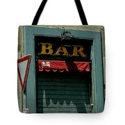 Saintly Bar Tote Bag
