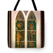 Saints In The Window Tote Bag