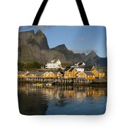 Sakrisoy Fishermen's Village Tote Bag