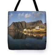 Sakrisoy Fishermen's Village II Tote Bag