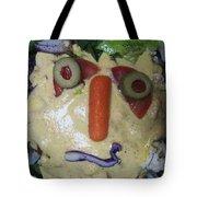 Salad Man Is Confused Tote Bag