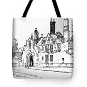 Salisbury Cathedral: Close Tote Bag