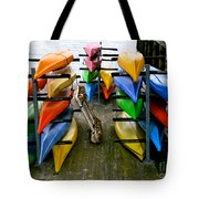 Salma Kayaks Tote Bag