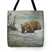 Salmon For Lunch Tote Bag