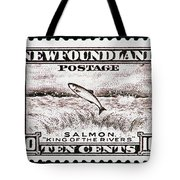Salmon King Of The Rivers Tote Bag