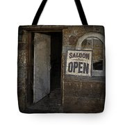 Saloon Open Tote Bag