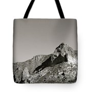 Salt River Black And White Tote Bag