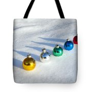 Salute To The Holidays Tote Bag