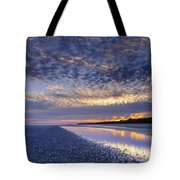 Same Night Five Fifty Two Pm Tote Bag