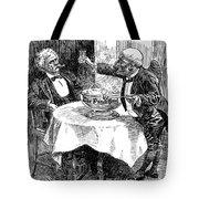 Samuel Clemens Cartoon Tote Bag