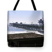 San Clemente Pier California Tote Bag