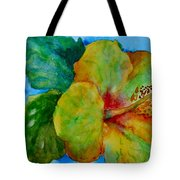 San Diego Hibiscus Study I Underwater Tote Bag