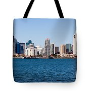 San Diego Skyline Buildings Tote Bag