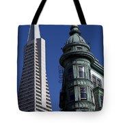 San Francisco Buildings Tote Bag by Garry Gay