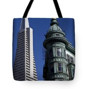 San Francisco Buildings Tote Bag