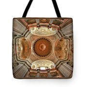 San Francisco City Hall Ceiling Tote Bag