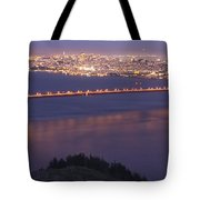 San Francisco Dusk Tote Bag