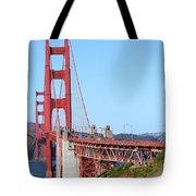 San Francisco Golden Gate Bridge . 7d8157 Tote Bag