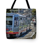 San Francisco Muni Tote Bag