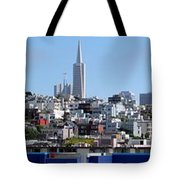 San Francisco Panorama Tote Bag