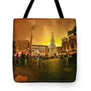 San Francisco Union Square Xmas Tote Bag