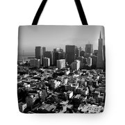 San Francisco Tote Bag by Valeria Donaldson
