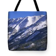 San Juan Mountains Covered In Snow Tote Bag