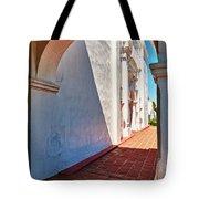 San Luis Rey Courtyard Tote Bag